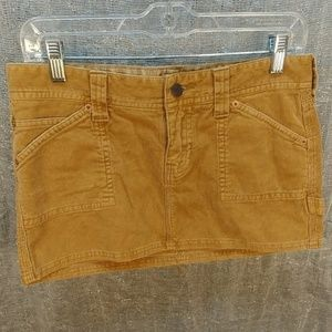 Hollister Hot Cord Mini Skirt